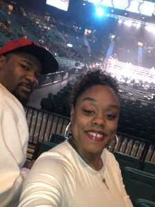 Key attended Premier Boxing Champions: Wilder vs. Ortiz II on Nov 23rd 2019 via VetTix