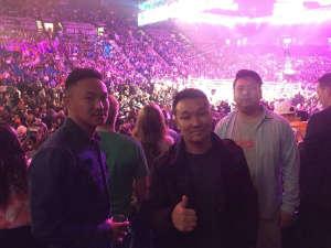 Prajwal attended Premier Boxing Champions: Wilder vs. Ortiz II on Nov 23rd 2019 via VetTix