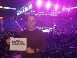 Eric attended Premier Boxing Champions: Wilder vs. Ortiz II on Nov 23rd 2019 via VetTix