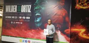 Roger attended Premier Boxing Champions: Wilder vs. Ortiz II on Nov 23rd 2019 via VetTix