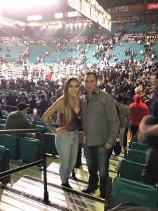Richard attended Premier Boxing Champions: Wilder vs. Ortiz II on Nov 23rd 2019 via VetTix