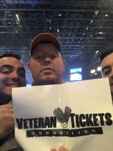 Jason attended Premier Boxing Champions: Wilder vs. Ortiz II on Nov 23rd 2019 via VetTix