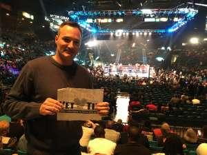 Douglas attended Premier Boxing Champions: Wilder vs. Ortiz II on Nov 23rd 2019 via VetTix
