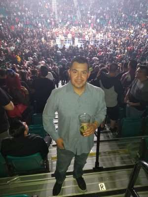 Christian attended Premier Boxing Champions: Wilder vs. Ortiz II on Nov 23rd 2019 via VetTix