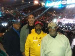 Roderic attended Premier Boxing Champions: Wilder vs. Ortiz II on Nov 23rd 2019 via VetTix