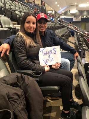 Mario  attended Tucson Roadrunners vs. Colorado Eagles - AHL on Dec 4th 2019 via VetTix