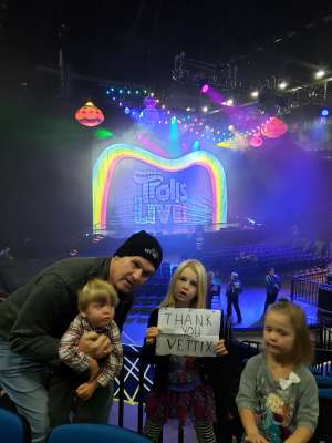 Prosper attended Trolls Live! - Morning Show - Presented by Vstar Entertainment on Nov 24th 2019 via VetTix