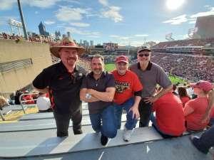 John attended Georgia Tech vs. Georgia - NCAA Football on Nov 30th 2019 via VetTix