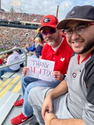 Brian attended Georgia Tech vs. Georgia - NCAA Football on Nov 30th 2019 via VetTix