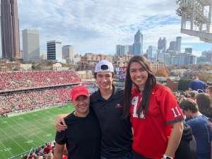 Edwin attended Georgia Tech vs. Georgia - NCAA Football on Nov 30th 2019 via VetTix