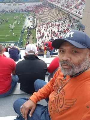 James attended Georgia Tech vs. Georgia - NCAA Football on Nov 30th 2019 via VetTix
