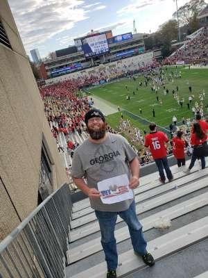 casey attended Georgia Tech vs. Georgia - NCAA Football on Nov 30th 2019 via VetTix
