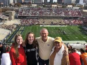 GREG attended Georgia Tech vs. Georgia - NCAA Football on Nov 30th 2019 via VetTix