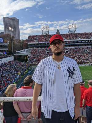 David attended Georgia Tech vs. Georgia - NCAA Football on Nov 30th 2019 via VetTix