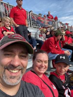 Christopher attended Georgia Tech vs. Georgia - NCAA Football on Nov 30th 2019 via VetTix