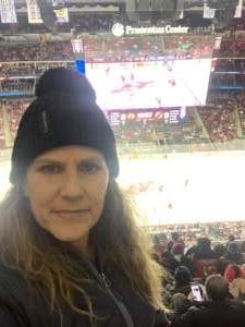 Miriam attended New Jersey Devils vs. Chicago Blackhawks - NHL on Dec 6th 2019 via VetTix
