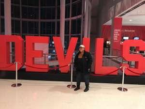 Melinda attended New Jersey Devils vs. Chicago Blackhawks - NHL on Dec 6th 2019 via VetTix