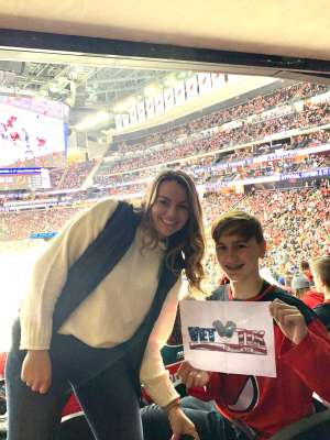 Edith attended New Jersey Devils vs. Chicago Blackhawks - NHL on Dec 6th 2019 via VetTix