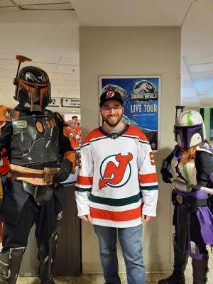 Robert attended New Jersey Devils vs. Chicago Blackhawks - NHL on Dec 6th 2019 via VetTix