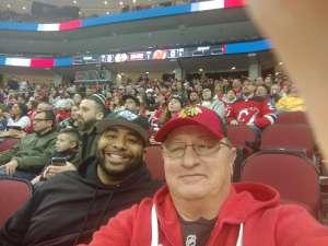 Jeff attended New Jersey Devils vs. Chicago Blackhawks - NHL on Dec 6th 2019 via VetTix