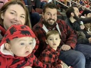 Ashley attended New Jersey Devils vs. Chicago Blackhawks - NHL on Dec 6th 2019 via VetTix