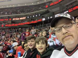 Philip attended New Jersey Devils vs. Chicago Blackhawks - NHL on Dec 6th 2019 via VetTix