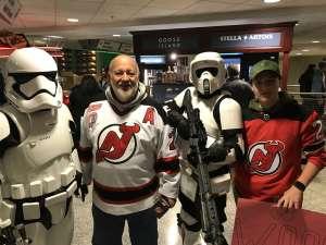 Mary attended New Jersey Devils vs. Chicago Blackhawks - NHL on Dec 6th 2019 via VetTix