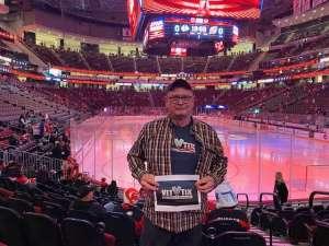 James attended New Jersey Devils vs. Chicago Blackhawks - NHL on Dec 6th 2019 via VetTix