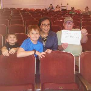 Michael attended Sesame Street Live! Let's Party! on Feb 25th 2020 via VetTix