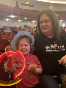 Kelli attended Sesame Street Live! Let's Party! on Feb 25th 2020 via VetTix