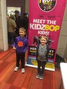 Andrew attended Kidz Bop World Tour 2019 on Nov 23rd 2019 via VetTix