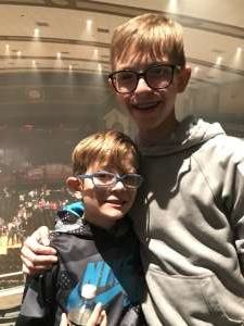 Wayne attended Kidz Bop World Tour 2019 on Nov 23rd 2019 via VetTix