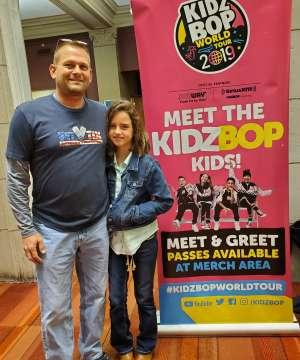 Jeffrey attended Kidz Bop World Tour 2019 on Nov 23rd 2019 via VetTix
