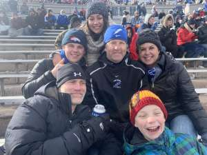 Oskie attended Air Force Academy Falcons vs. University of Wyoming Cowboys - NCAA Football on Nov 30th 2019 via VetTix