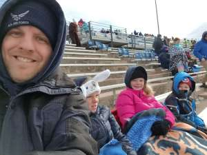 Chad attended Air Force Academy Falcons vs. University of Wyoming Cowboys - NCAA Football on Nov 30th 2019 via VetTix