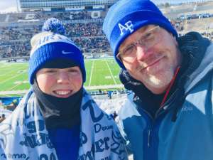 Randall attended Air Force Academy Falcons vs. University of Wyoming Cowboys - NCAA Football on Nov 30th 2019 via VetTix