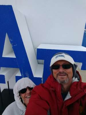 Anthony attended Air Force Academy Falcons vs. University of Wyoming Cowboys - NCAA Football on Nov 30th 2019 via VetTix