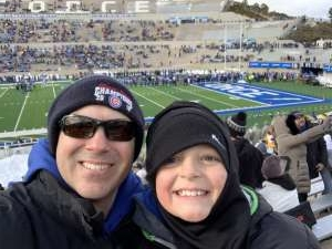Robert attended Air Force Academy Falcons vs. University of Wyoming Cowboys - NCAA Football on Nov 30th 2019 via VetTix