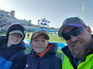 Jason attended Air Force Academy Falcons vs. University of Wyoming Cowboys - NCAA Football on Nov 30th 2019 via VetTix