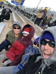 Zachary attended Air Force Academy Falcons vs. University of Wyoming Cowboys - NCAA Football on Nov 30th 2019 via VetTix
