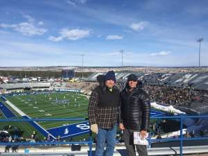 Jonmark attended Air Force Academy Falcons vs. University of Wyoming Cowboys - NCAA Football on Nov 30th 2019 via VetTix