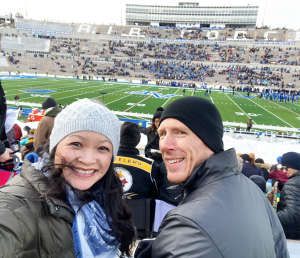 Daniel attended Air Force Academy Falcons vs. University of Wyoming Cowboys - NCAA Football on Nov 30th 2019 via VetTix