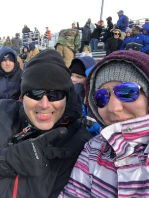 Darwin attended Air Force Academy Falcons vs. University of Wyoming Cowboys - NCAA Football on Nov 30th 2019 via VetTix