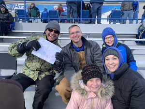 Martin attended Air Force Academy Falcons vs. University of Wyoming Cowboys - NCAA Football on Nov 30th 2019 via VetTix