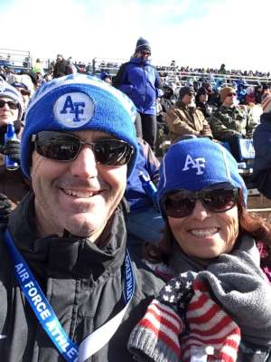 Janet attended Air Force Academy Falcons vs. University of Wyoming Cowboys - NCAA Football on Nov 30th 2019 via VetTix