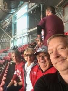 Eric attended Arizona Cardinals vs. Los Angeles Rams - NFL on Dec 1st 2019 via VetTix