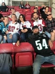 James attended Arizona Cardinals vs. Los Angeles Rams - NFL on Dec 1st 2019 via VetTix