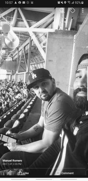 Joshua attended Arizona Cardinals vs. Los Angeles Rams - NFL on Dec 1st 2019 via VetTix