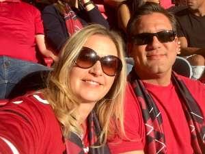 Dawn attended Arizona Cardinals vs. Los Angeles Rams - NFL on Dec 1st 2019 via VetTix