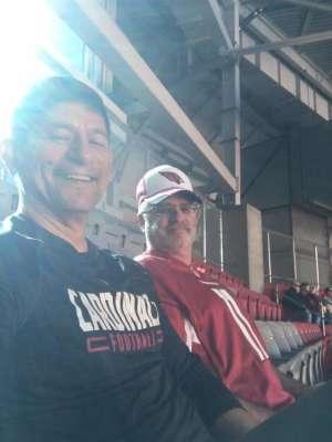 Kenneth attended Arizona Cardinals vs. Los Angeles Rams - NFL on Dec 1st 2019 via VetTix